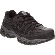 SKECHERS Men's Relaxed Fit Cankton Lace Steel Toe Work Shoes