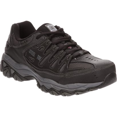 5c39de976942 ... SKECHERS Men s Relaxed Fit® Cankton Lace ST Shoes. Steel Toe Boots.  Hover Click to enlarge