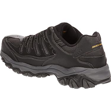 1215a500e35 SKECHERS Men's Relaxed Fit Cankton Lace Steel Toe Work Shoes