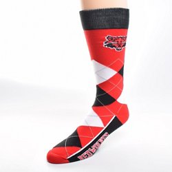 For Bare Feet Unisex Arkansas State University Team Pride Flag Top Dress Socks