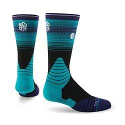 Stance Men's Charlotte Hornets Logo Crew Socks