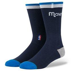 Stance Men's Dallas Mavericks Arena Logo Crew Socks