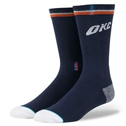 Stance Men's Oklahoma City Thunder Arena Logo Crew Socks