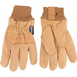 Men's Insulated Leather Gunn Cut Gloves
