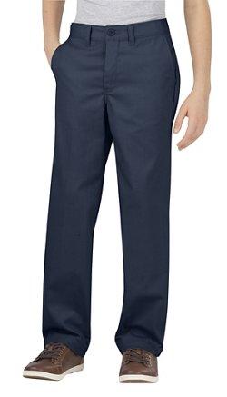 Dickies Boys' Flat Front Uniform Pant