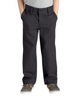 Dickies Boys' Flat Front Pant
