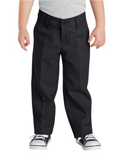 Girls' 4-7 Flat Front Pant