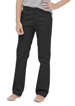 Dickies Girls' Flat Front Uniform Pant