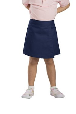Dickies Girls' 4-7 Faux Wrap Skort