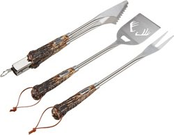 Outdoor Gourmet Antler 3-Piece Barbecue Tool Set