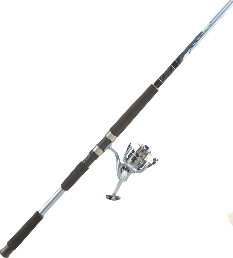 Quantum Blue Runner Saltwater Rod and Reel Combo Blue – Fishing Combos, Spinning Combos at Academy Sports