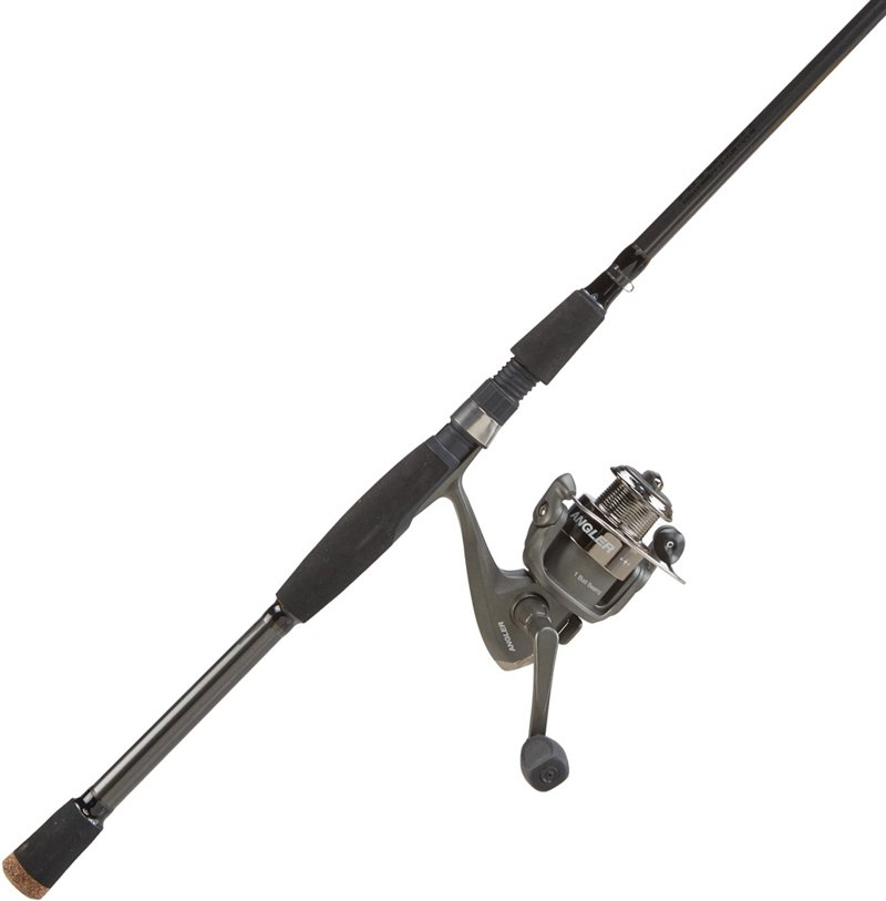 H2O Xpress Angler 6′ M Spinning Rod and Reel Combo Gray – Fishing Combos, Spinning Combos at Academy Sports