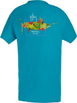 Guy Harvey Women's Tropic Logo T-shirt