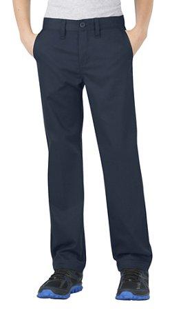 Boys' Slim Fit Straight Leg Uniform Pant