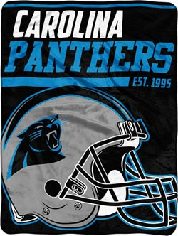 "The Northwest Company Carolina Panthers 40-Yard Dash 46"" x 60"" Micro Raschel Throw"