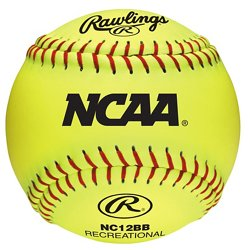 Girls' 12 in Recreational Fast-Pitch Softballs 6-Pack