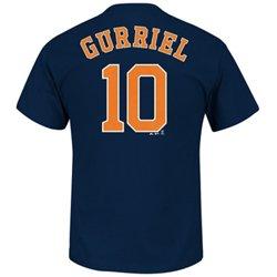 Majestic Men's Houston Astros Yulieski Gurriel #10 T-shirt