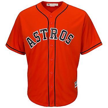 meet 28f35 a5d21 Majestic Men's Houston Astros Alex Bregman #2 Cool Base Replica Jersey