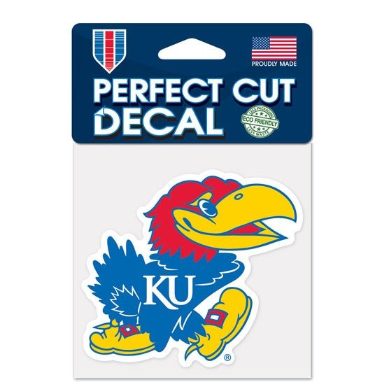 WinCraft University of Kansas Perfect Cut Color Decal - view number 1