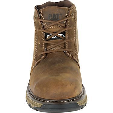 812752caebf Cat Footwear Men's Parker ESD Steel Toe Lace Up Work Boots