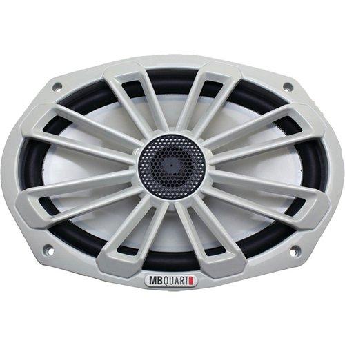 MB Quart Nautic Series 140W 6 in x 9 in 2-Way Coaxial Marine Speaker