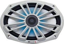 "MB Quart Nautic Series 140W 6"" x 9"" 2-Way Coaxial Marine Speaker with LED Illumination"