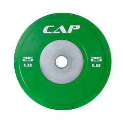 CAP Barbell Olympic Rubber Competition Bumper Plates with Steel Inserts