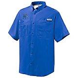 Columbia Sportswear™ Men's University of Memphis PFG Tamiami Button-Down Shirt