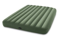 INTEX Dura-Beam Deluxe Queen-Size Airbed with Pump