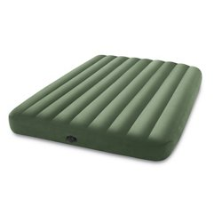 Dura-Beam Deluxe Queen-Size Airbed with Pump