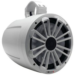 "Nautic Series 140W 8"" 2-Way Wake Tower Marine Speaker"