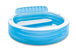 INTEX Swim Center Round Family Lounge Pool