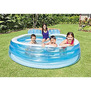 INTEX Swim Center Round Family Lounge Pool