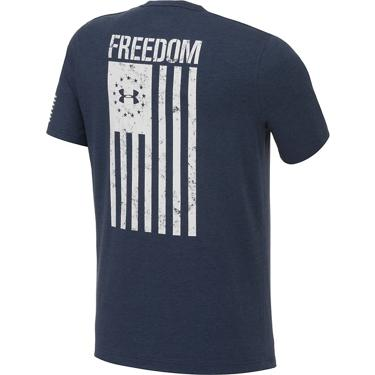 156edfada ... Under Armour Men's Freedom Flag Short Sleeve T-shirt. Men's Graphic Tees.  Hover/Click to enlarge