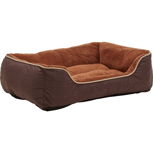 Dallas Manufacturing Company 27' x 36' Plaid Boxed Dog Bed