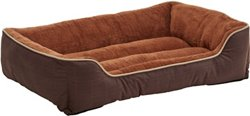 """Dallas Manufacturing Company 32"""" x 42"""" Plaid Boxed Dog Bed"""
