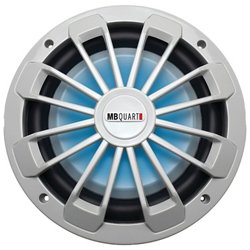 Nautic Series Marine-Certified 600W Shallow Subwoofer with LED Illumination