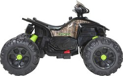 Surge 12V Camo Mega Wheel XL Quad Ride-On