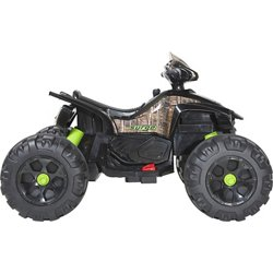 12V Camo Mega Wheel XL Quad Ride-On