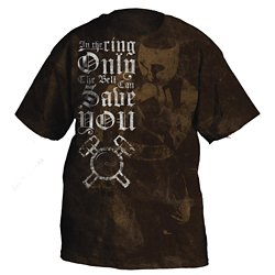 Ringside Men's Only the Bell Can Save You T-shirt