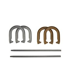 Deluxe Metal Horseshoe Game Set