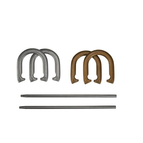 AGame Deluxe Metal Horseshoe Game Set