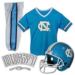 Franklin Kids' University of North Carolina Deluxe Football Uniform Set