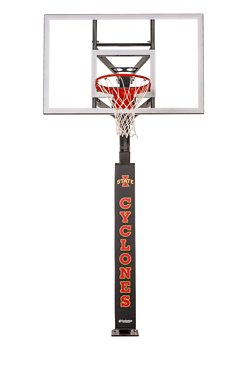 Iowa State University Basketball Hoop Pole Padding