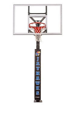 University of Kansas Wraparound Basketball Pole Pad