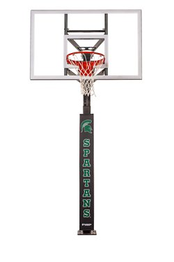 Michigan State University Basketball Hoop Pole Padding