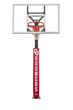 University of Oklahoma Basketball Hoop Pole Padding