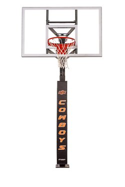 Oklahoma State University Basketball Hoop Pole Padding