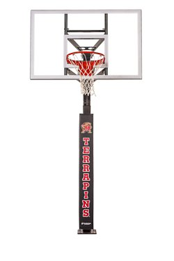 University of Maryland Wraparound Basketball Pole Pad