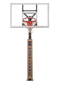University of Tulsa Wraparound Basketball Pole Pad